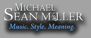 Official Website of Michael Sean Miller